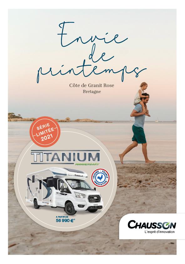 Titanium anniversary 2021 Chausson